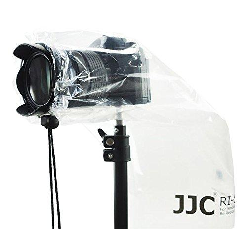 JJC RI-S Housse Protection Etanche Anti-pluie DSLR Appareil Photo Objectif - 28x17cm