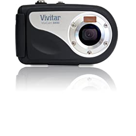 Vivitar ViviCam V8400 8.1 MP Waterproof Digital Camera (Black)