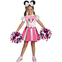Mickey Mouse Clubhouse - Minnie Mouse Cheerleader Toddler / Child Costume ミッキーマウスクラブハウス - ミニーマウスのチアリーダー幼児/子供コスチューム♪ハロウィン♪サイズ:Toddler (2T)