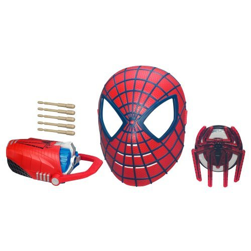 The Amazing Spider-Man Deluxe Rapid-Fire Web Shooter Pack by Spider-Man