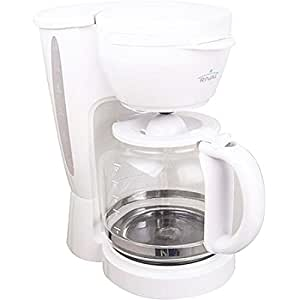 Amazon.com: Rival CM4306 12 Cup Coffee Maker Non Drip Carafe White: Kitchen & Dining