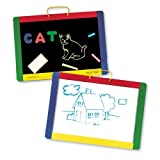 Melissa &amp; Doug Magnetic Chalk Dry Erase Board