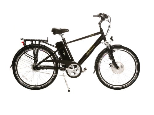 Hebb E-bikes Electro Glide 500 Men's Frame Electric Bike - Black Diamond