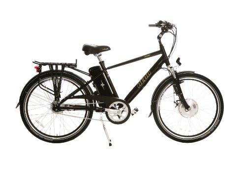 Hebb E-bikes Electro Glide 500 Men's Frame Electric Bike - Black Diamond