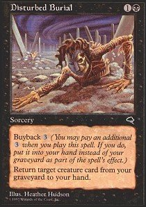 Magic: the Gathering - Disturbed Burial - Tempest by Magic: the Gathering