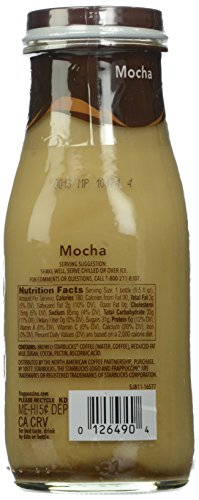 Starbucks Mocha Frappuccino, 9.5 oz, 12 ct
