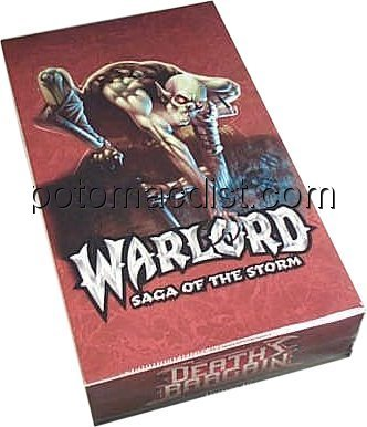 Warlord CCG: Death's Bargain Booster Box