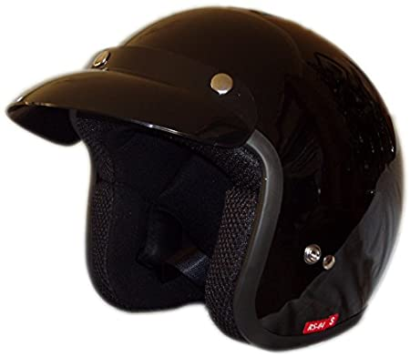 Viper rs04 Open Face Black casque de moto