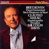 ベートーヴェン : ピアノ協奏曲第5番変ホ長調 「皇帝」、第4番ト長調