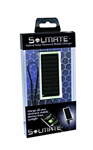 Solmate Universal Portable Solar Cell Phone Charger