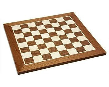 40.6cm incrusté jeu d'échecs en bois Conseil d'administration. n0. 4