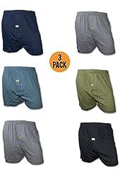 Joseph Abboud Men's 3 Pack Knit Jersey Boxers