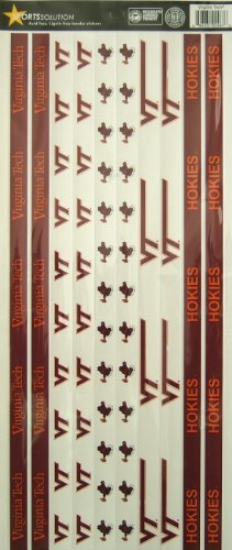 Sports Solution Virginia Tech Hokies Border Sticker
