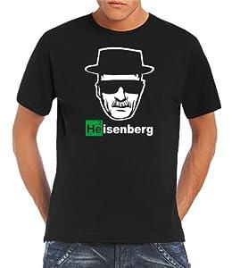 Touchlines Men's T-Shirt Heisenberg Walter White Logo black Size:4XL
