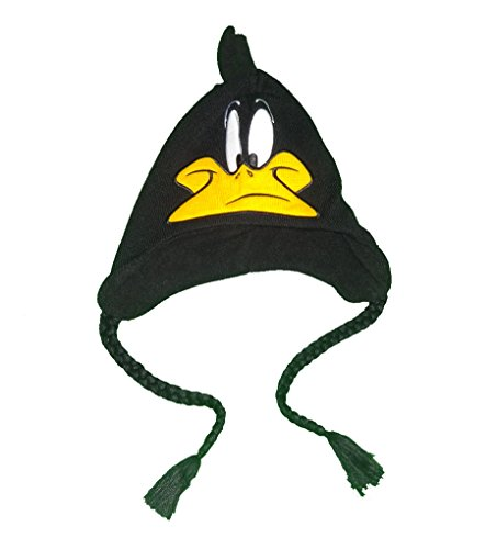 looney-tunes-daffy-duck-fleece-lined-knitted-laplander-hat-cap