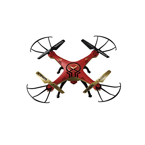 Swann XTTOY-QVDRNE-GL Quad Force Video Drone Surveillance Camera, Red