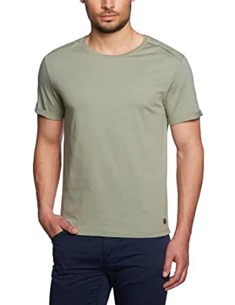 Michalsky Herren T-Shirt 1212101, Gr. 46 (S), Grün (324 light olive)