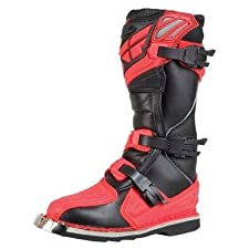 Fly Racing Mens Fly Viper Motocross Boots Red/Black 6 XF360-55306