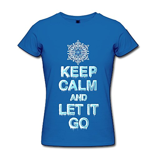 Rzf Women Keep Calm Let It T-Shirt