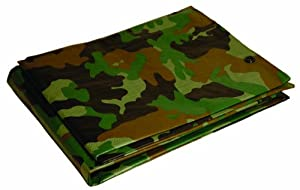 10' x 12' Dry Top Camouflage 7-mil Poly Tarp item #410129