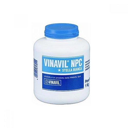 Vinavil 10800 NPC Adesivo Acetovinilico, Bianco, 1 kg