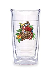 Tervis Tumbler Margaritaville It's 5'Clock Somewhere 16-Ounce Double Wall Insulated Tumbler, Set of 4