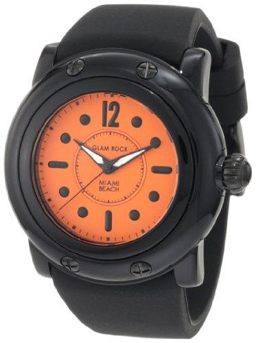 Glam Rock GR25027 - Orologio da polso da donna colore nero