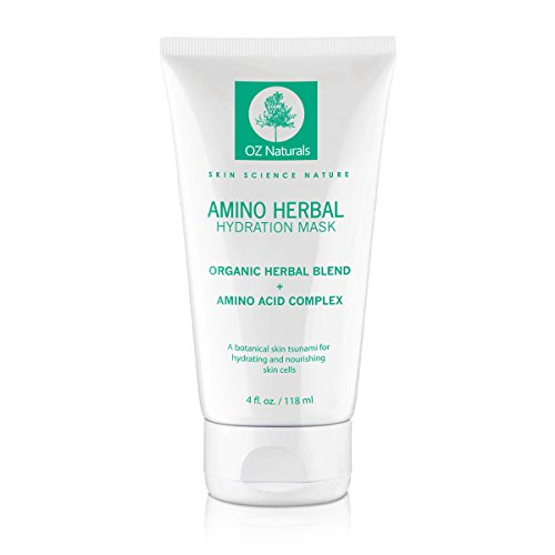OZ Naturals Facial Mask - The BEST Moisturizing Face Mask Contains Complex Organic Herbal Blend + Amino Acids - This Anti Aging Face Mask Provides A Hydration Tsunami That Deeply Hydrates & Nourishes Your Skin Cells For That Dewy, Youthful Glow