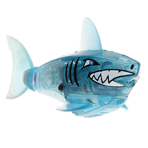 Baby Kids Toy Blue Robot Shark Activated Battery Powered (Track Magic Cleaner compare prices)