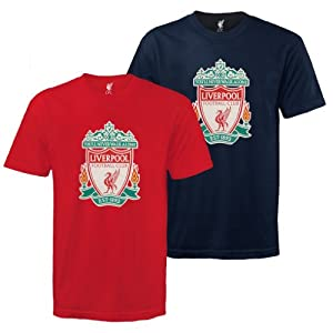 Liverpool FC Official Kids Crest T-Shirt Football Gift (RRP £11.99!) 10-11 Years from Liverpool