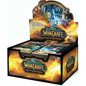 World of Warcraft TCG WoW Trading Card Game Heroes of Azeroth 1st Edition Booster Box (24 Packs)