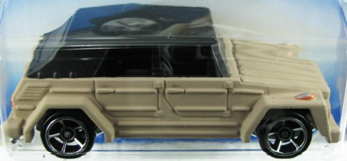 HOT WHEELS 2009 NEW MODELS 17/42 VOLKSWAGEN TYPE 181 CEMENT COLORED WITH BLACK TOP 017/190