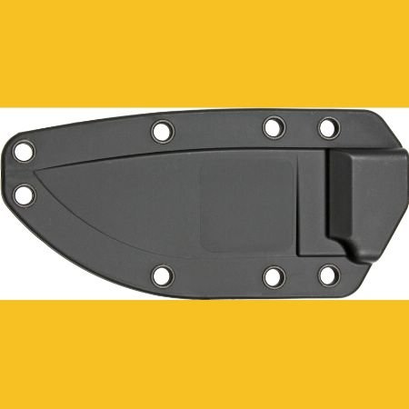 Esee Knives 40B Model 3 Sheath With Molded Black Zytel Construction Without Boot Clip