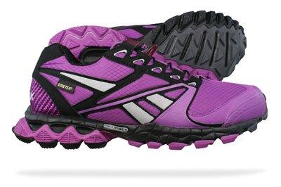 Reebok Premier Reetrek GTX Womens Running Trainers / Shoes - Purple