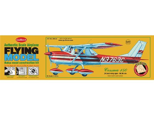 Guillow Cessna 150 Laser Cut Kit 24″ Wingspan