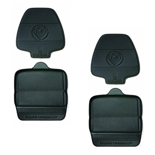 Prince Lionheart Two Stage Seat Saver - Black, 2 Pack - 1
