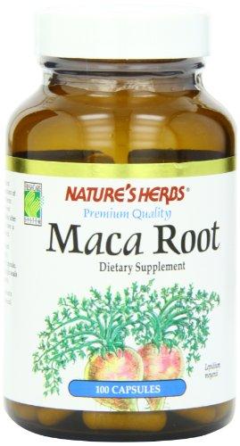 Nature's Herbs Maca Root, 500 mg, 100  Capsules