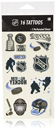 NHL Ice Time Temporary Tattoos