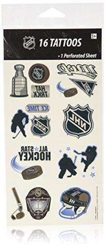 NHL Ice Time Temporary Tattoos