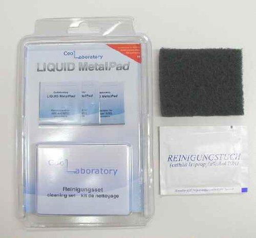 Cool Laboratory 金属パット 熱伝導率:126.0W/m・k 38×38mm 3枚入り ドイツ製  LIQUID MPC+CS