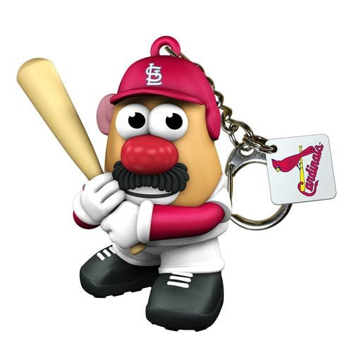 Mlb St L Cardinals Mr. Potato Head Keyring front-911569