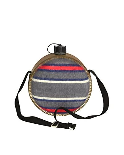 Uptown Down Found Striped Pattern Canteen, Multi