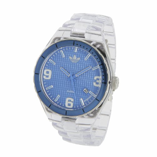 Adidas Originals Unisex Cambridge Analogue Watch - ADH2509 With 44mm Blue Dial