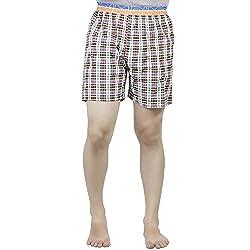 PSK Regular Cotton Check Men's Casual Boxer