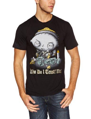 Men's Family Guy Trust Black Men's T-shirt Black