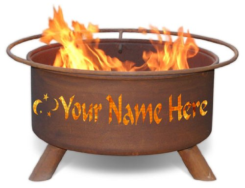 Patina Personalized Fire Pit