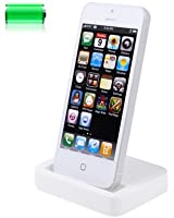 Desktop Charger Dock Syncing Station for iPhone 5 in White BY SMARTPHONEZ