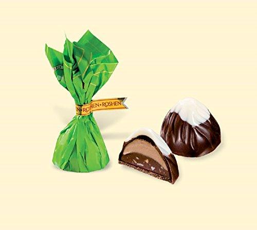 Montblanc Cream-Praline with Chopped Hazelnut (Монблан) 1lbs (Roshen Chocolate Bar compare prices)