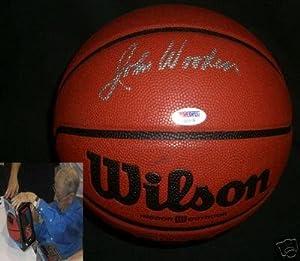Coach John Wooden UCLA BRUINS Signed NCAA Basketball COA - PSA DNA Certified -... by Sports+Memorabilia
