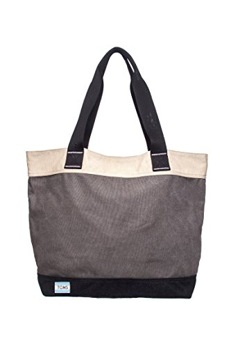 Transport Blocked Canvas Tote